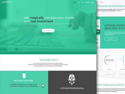 Capitalise Website
