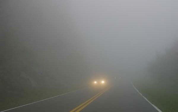 Ceata densa face dificila misiunea soferilor angrenati, la aceasta ora, pe autostrada A3 Bucuresti - Ploiesti. Vizibilitatea este, pe alocuri, sub 30 de metri! Nu doar pe A3 sub probleme din cauza ce