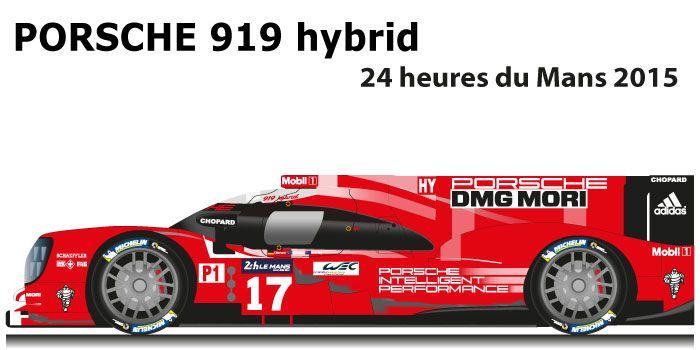 PORSCHE 919 hybrid n.17