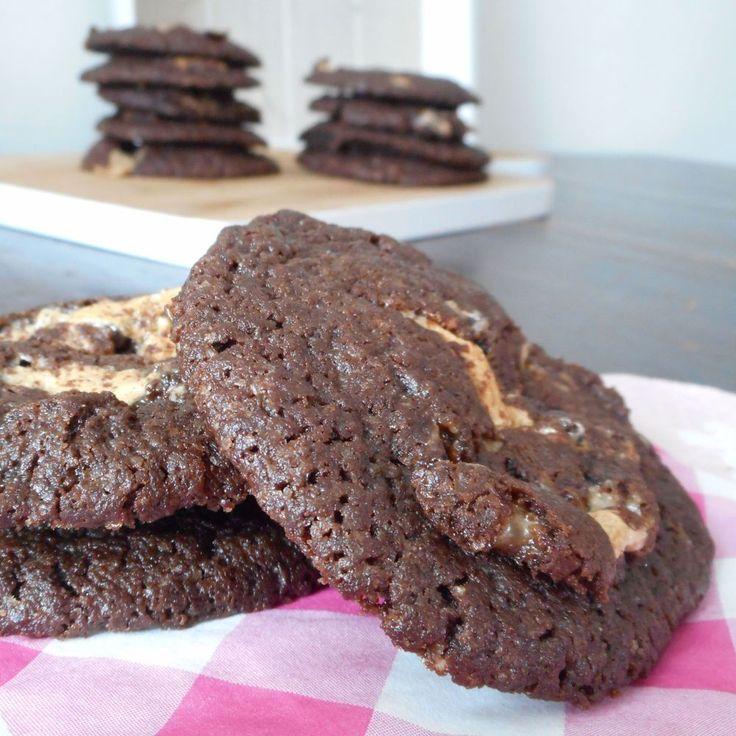 Chocolade Milky Way koeken / Koekjes / Recepten | Hetkeukentjevansyts.jouwweb.nl