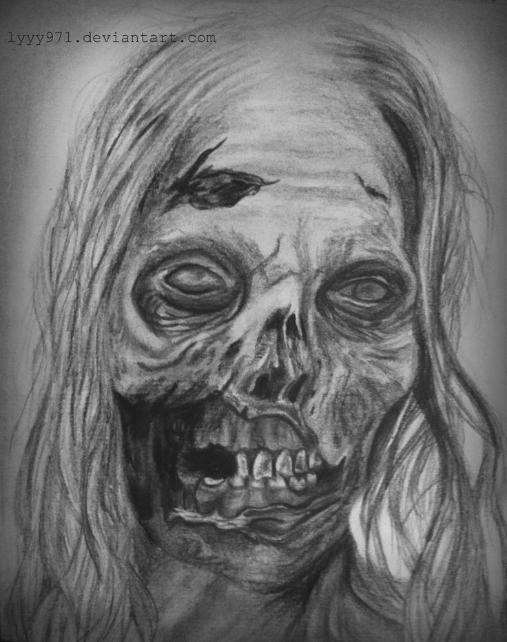 Bicycle Girl/Hannah drawing – The Walking Dead by lyyy971.deviantar… on @devia…