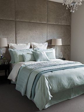 Callista Duck Egg bed linen range