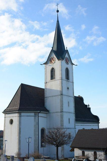 Metzerlen-Mariastein, Kirche St. Regimius (Dorneck) Solothurn CH