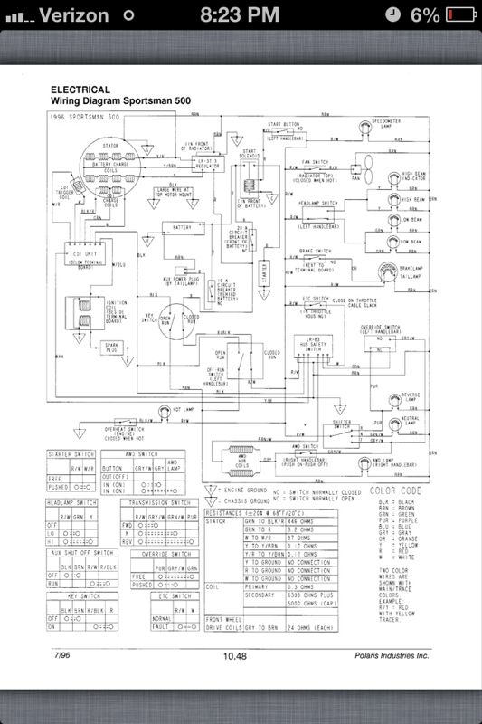 Image Result For Battery Wiring Diagram For Polaris