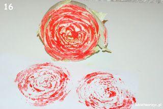 Stemple z kapusty pekińskiej! :)  #stamps  #diy #craft #crafts #tutorial #handmade