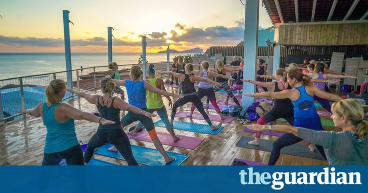 Fly and flop this is not. YogaFit's affordable retreats include nearly 100 yoga and fitness classes, from beach circuits to Bhangracise and twerking. Rachel Dixon does a fitness heptathlon … in a day