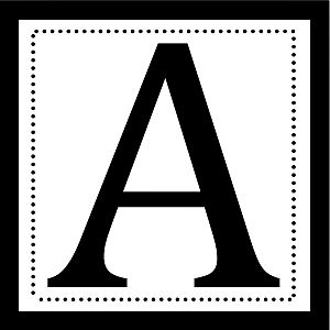 photograph relating to Printable Letters for Bulletin Boards referred to as Printable Letters Ofthe Alphabet For Bulletin Board