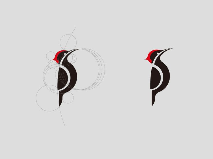 This would make an adorable woodpecker tattoo