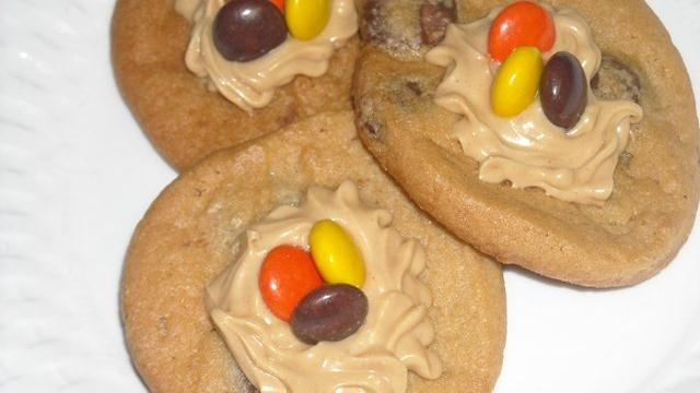 Double Peanut Butter Cookies  #makernation: Cookie Recipes