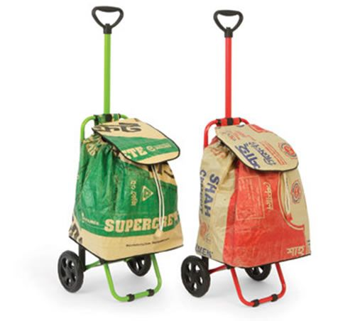 The Not Just for Shopping Trolley - come in useful bringing spuds back from the allotment!
