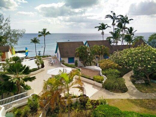Crystal Cove Hotel, west coast of Barbados. #hotel #barbados #ocean #caribbean