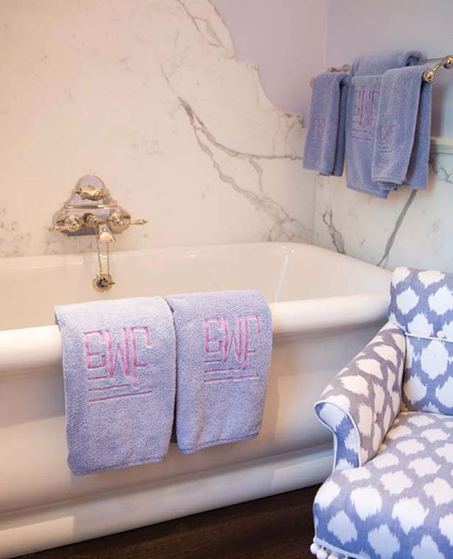 How Beautiful Is This #lavender #bathroom From @kimberlywhitmanu0027s Booku2026