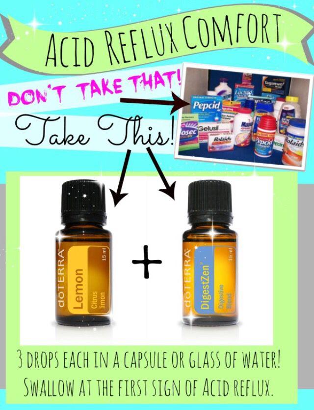 Acid Reflux Essential Oils Pinterest Heartburn Not