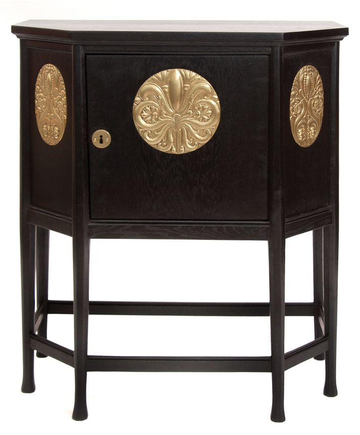 Sideboard, designed by Mackay Hugh Baillie Scott for the New Palace in Darmstadt, c. 1899, 103cm H.