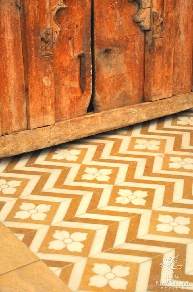 82 mejores im genes sobre mosaicos azulejos baldosas - Azulejos de suelo ...