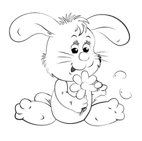 Malvorlagen Hase Ausmalbilder 1 Frühling Ostern Pinterest