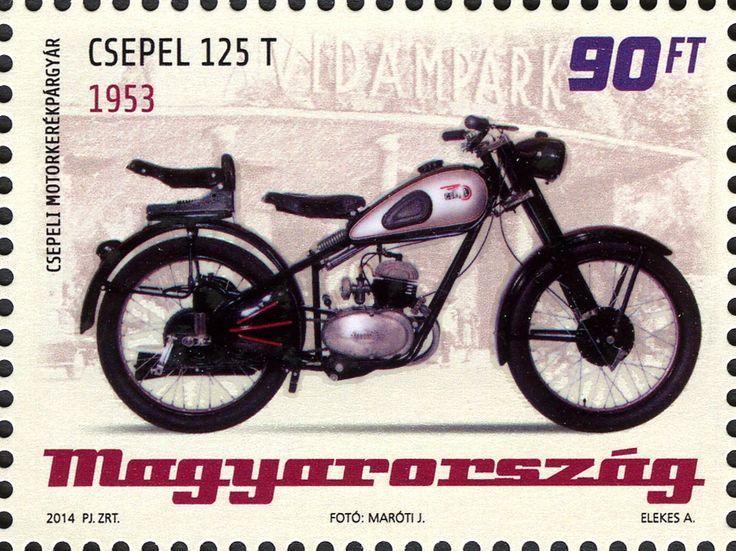 Csepel 125T 1953