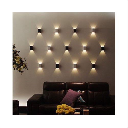 LED Wall Light High Power LED Up Down Wall Lamp Spot Light Sconce Lighting