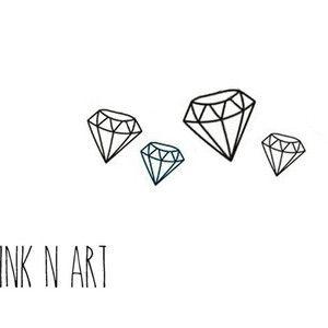 small diamond tattoo - Google Search