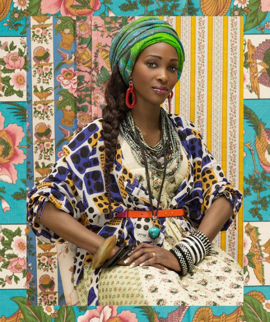 African Prints in Fashion: Mozambique Beauties