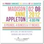 Photo Birth Announcements - Colorful Hello: Watermelon by Tiny Prints -back