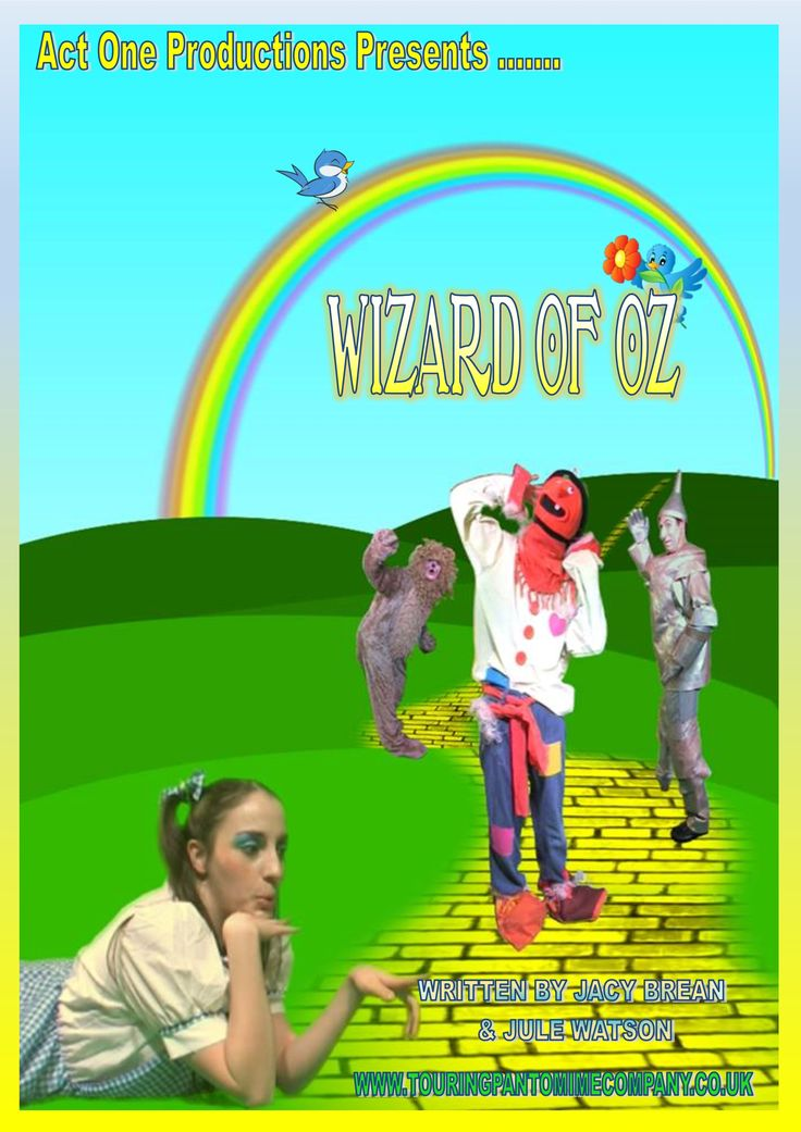 Act One Productions Touring Pantomime Wizard of OZ