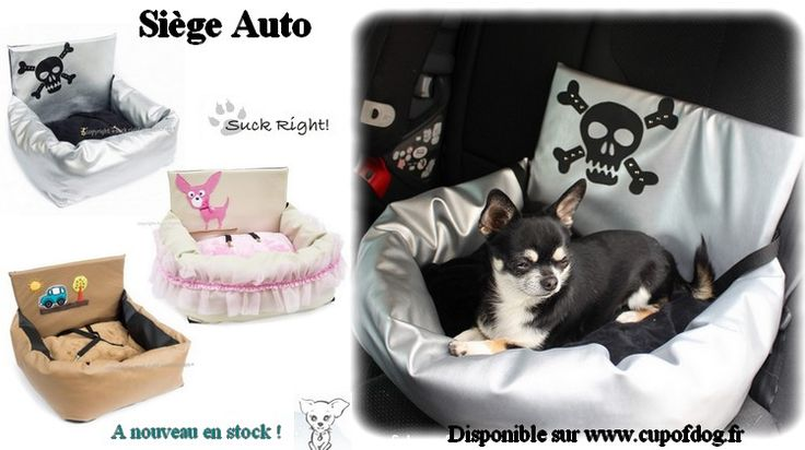 Siège auto driving kit pour chien https://www.cupofdog.fr/suck-right-m-28.html