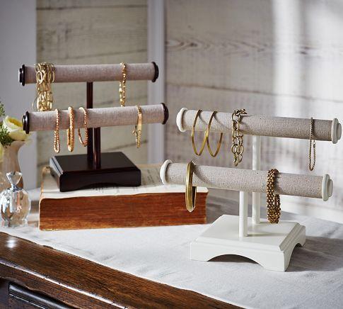 Andover Tall Jewelry Box | @potterybarn #organize