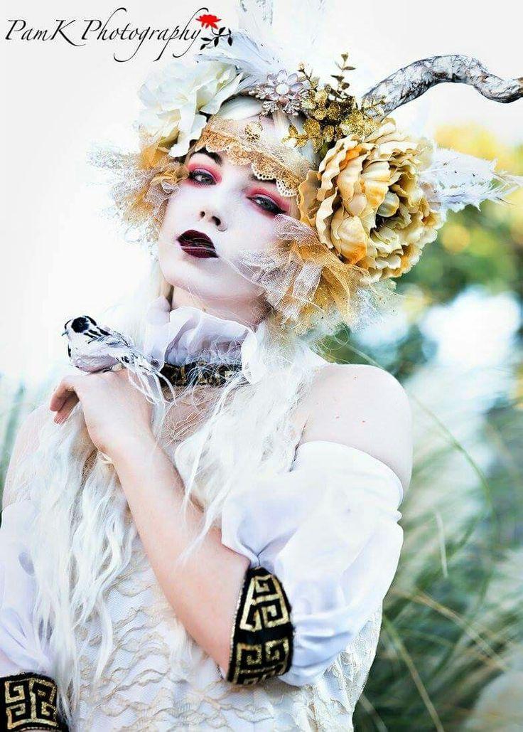 White Forest Goddess