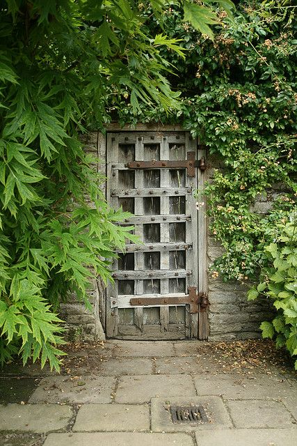 Wooden garden gates...