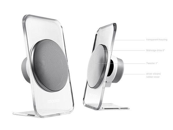 Atmosphere Bluetooth Hi-Fi Enclosure-Free 2.1 Speaker on Industrial Design Served