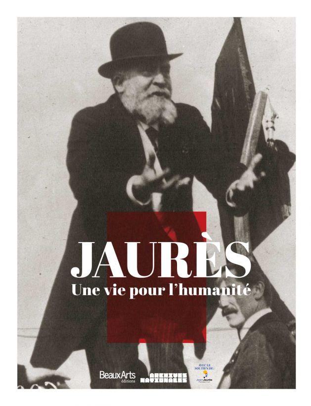 """""""Jaurès, une vie pour l'humanité"""", le catalogue de l'exposition Jaurès aux @Mike Klenda nationales France /via http://www.beauxartsmagazine.com/0125-781-Jaures.html"""