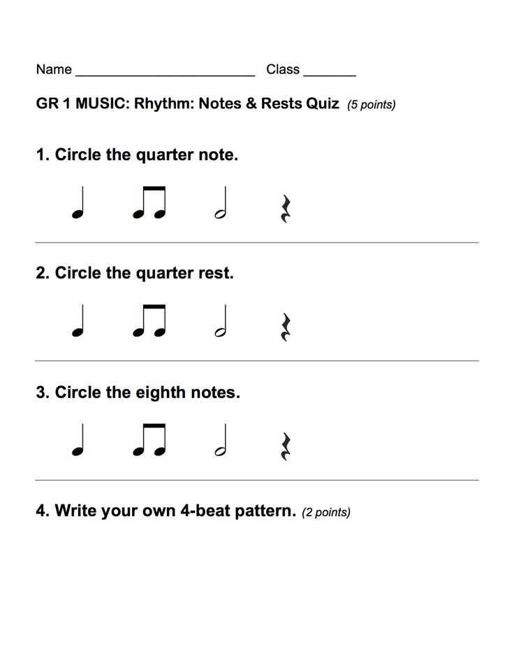 Printable Worksheets counting music notes worksheets : 124 best Rhythm and note name building images on Pinterest | Music ...