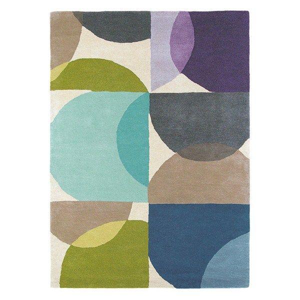 Scion kaleido rugs 26008 in marine buy online from the rug seller uk