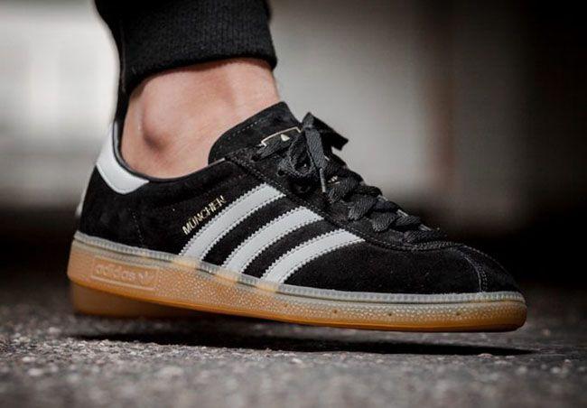 http://SneakersCartel.com adidas Munchen 'Black Gum' #sneakers #shoes #kicks #jordan #lebron #nba #nike #adidas #reebok #airjordan #sneakerhead #fashion #sneakerscartel