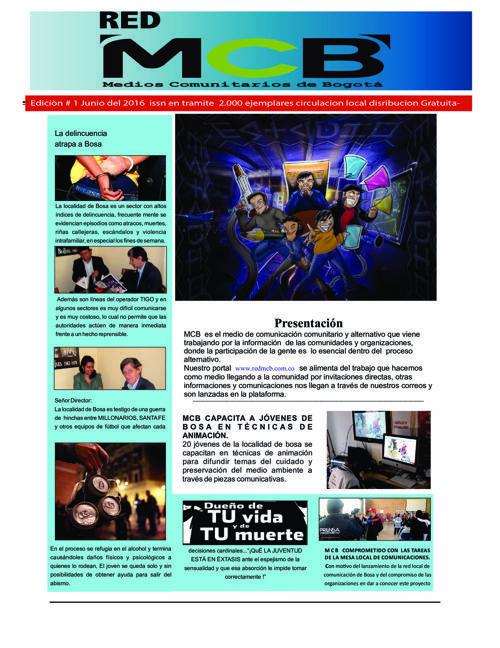 FlipSnack | Periodico junio  by Luis Alfredo Ropero Barbosa
