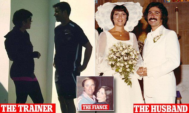 Kris Jenner bedded Robert Kardashian in fiance's bed   Daily Mail Online