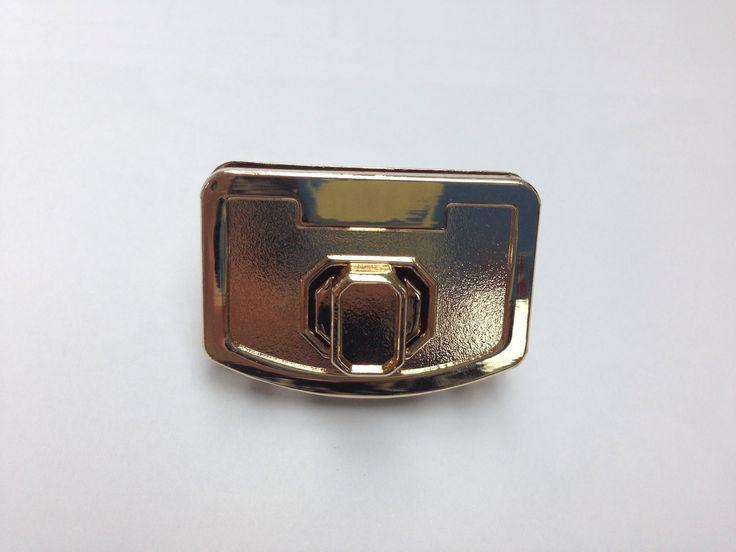 Gold turn lock