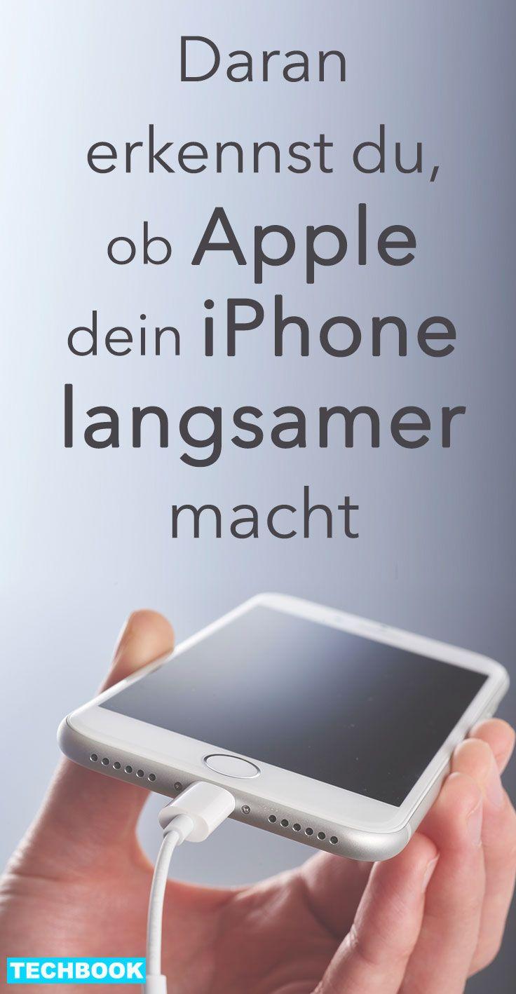 Daran erkennst du, ob Apple dein iPhone langsamer macht