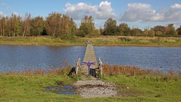 Park 'Dintelse Gorzen', Volkerak river, North Brabant (NL)