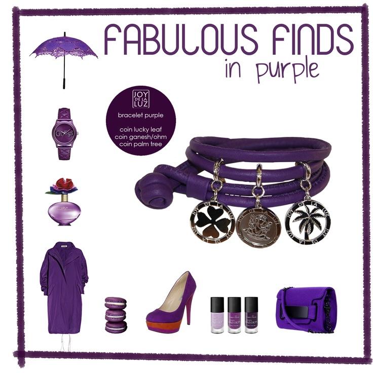 Joy de la Luz   Fabulous Finds in purple