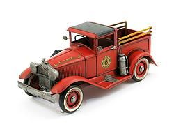 Metal Red Fire Truck - $43.99
