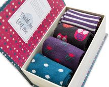 The Women's Gift Box by Braintree | 4 pairs of super-soft bamboo crew socks