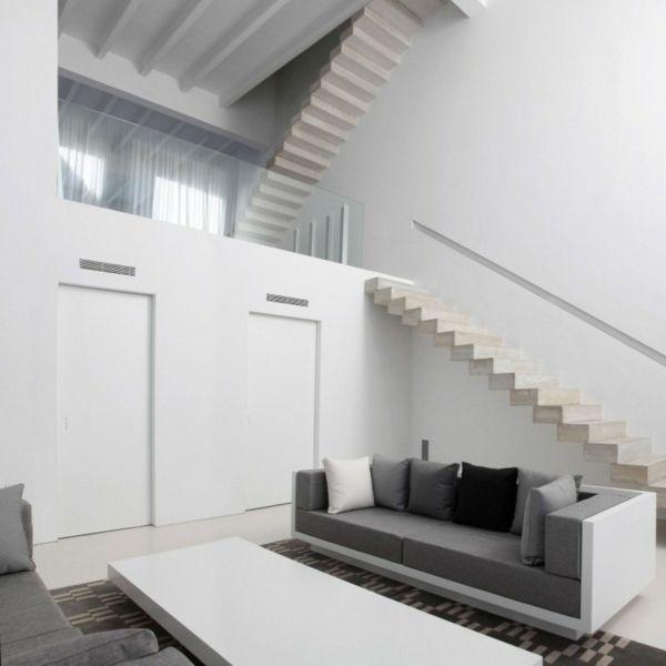 Treppen Moderne Betontreppen Interior