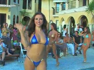 Sexy bikini contest