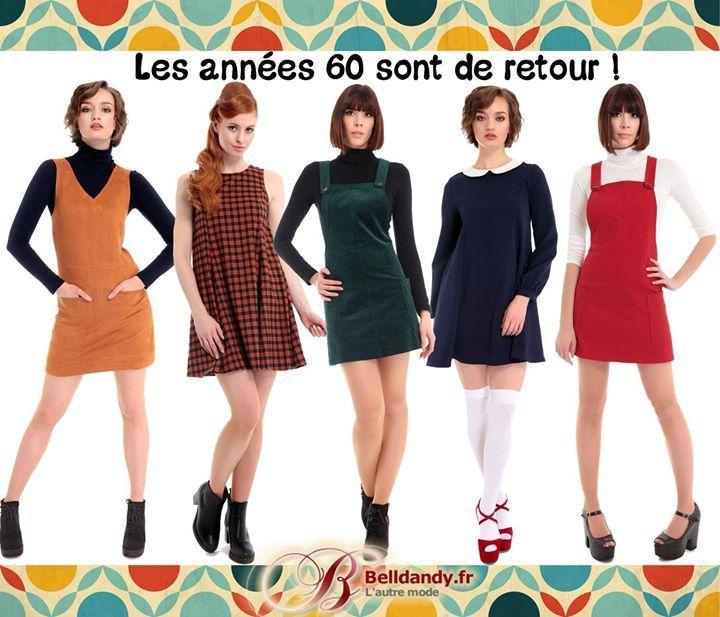 Les années 60 sont de retour ! Découvrez notre collection de robes chaussures et accessoires qui vous ramèneront dans les années Yéyé !!  http://www.belldandy.fr/votre-style-look/retro-60-s-yeye-mod-groovy.html https://www.facebook.com/belldandy.fr/photos/a.338099729399.185032.327001919399/10154471749064400/?type=3
