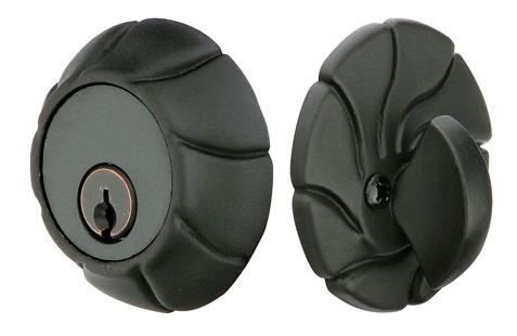 Emtek Art Nouveau Style Single Cylinder