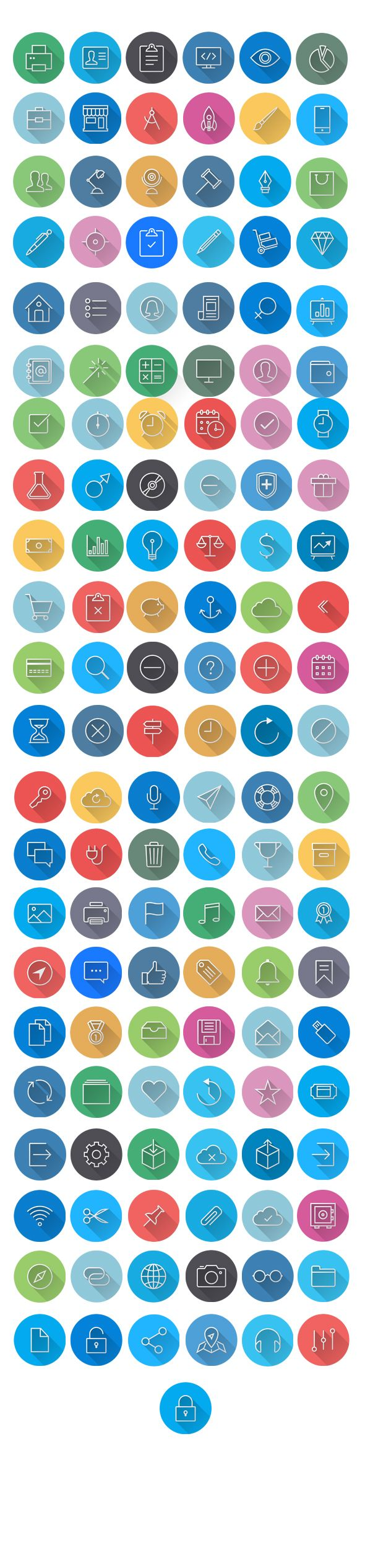 Flat Icons - GraphicRiver | DailyDesignMag.net by Cursor Creative House, via Behance Mobile marketing, app, app development, business, collaborations, colorful, communication, computer, consultancy, cross platform, development, flat icons, glyphs, graphics, icons, idea, interface, internet, line, long shadow, mac, media, modern, responsive, seo icons, social media, social network, stroke, touch, web