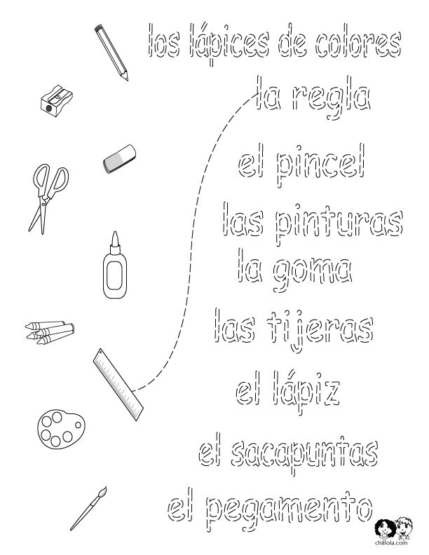 131 Best Spanish Worksheets For Children Espanol Para