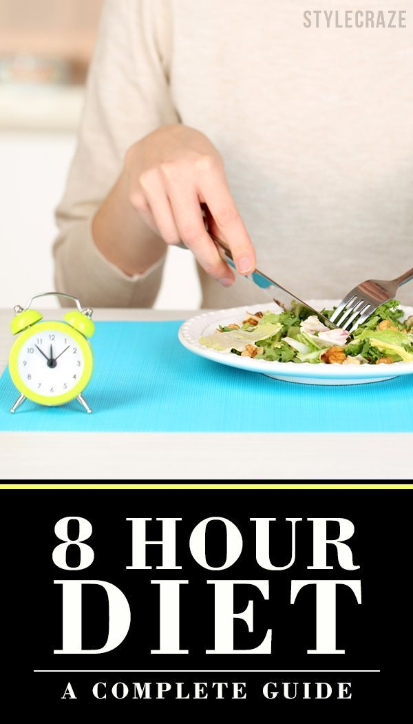 If you want to lose weight but crash dieting is not your cup of tea, do try the 8-Hour Diet.
